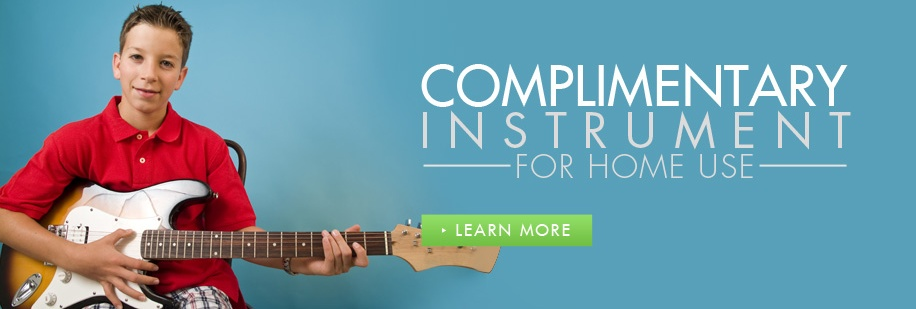 Complimentary in Home Instrument with Music Lessons