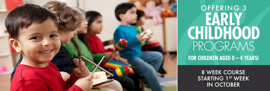 Early Childhood Music Education programs available!